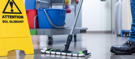 Nettoyage et entretien de locaux professionnels